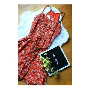 BRAND NEW w/ tags Elle Orange floral dress